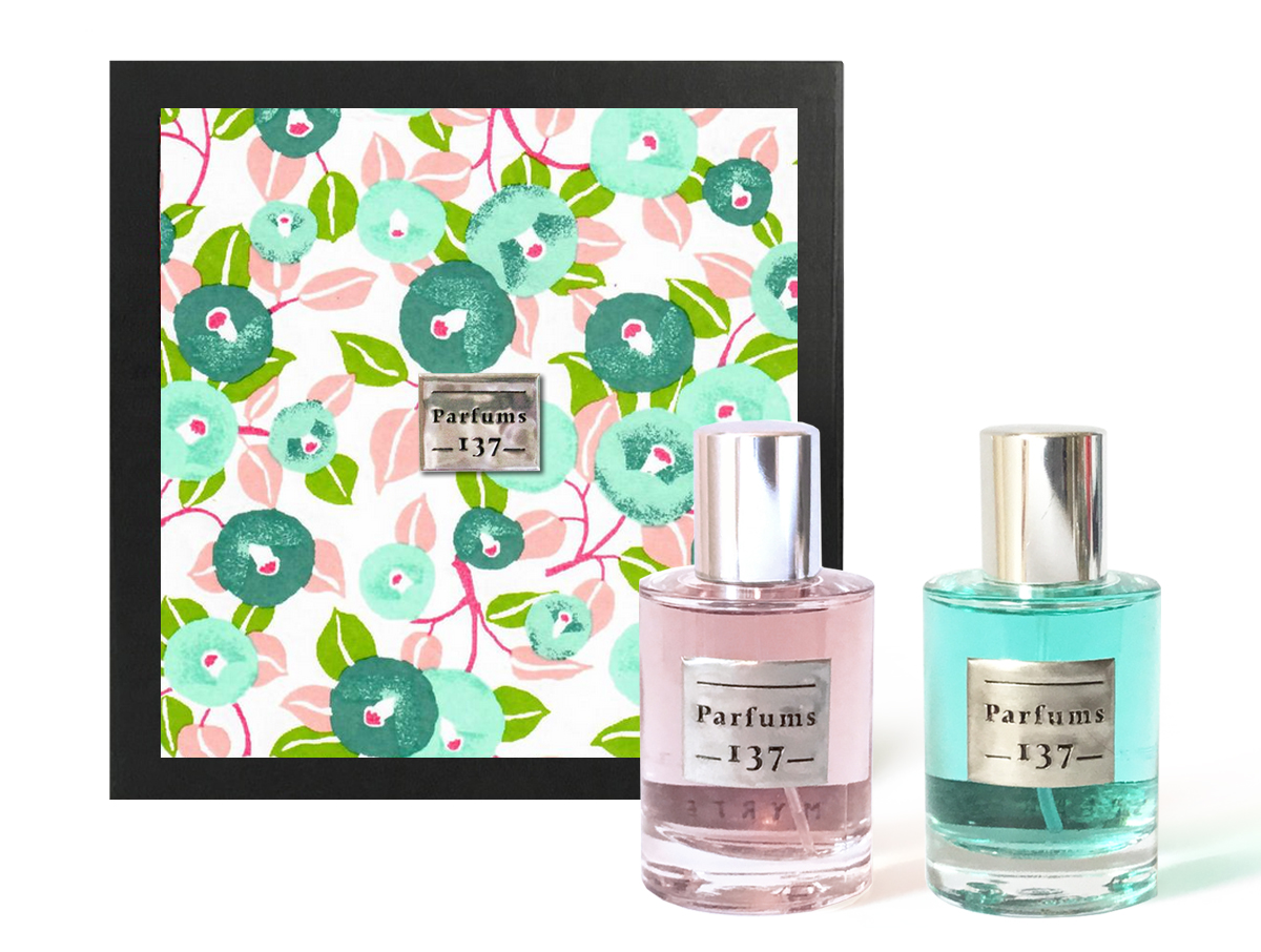 EAUX DE PARFUM SPEARMINT + MYRTE • 2 x 30 ML