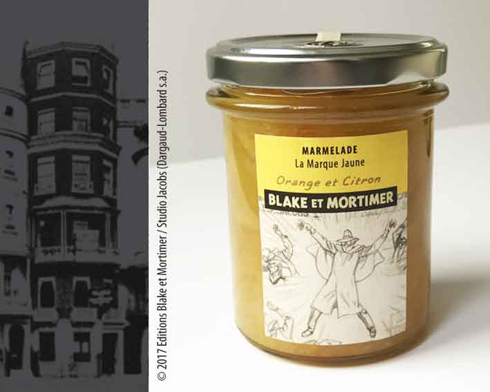 marmelade_orange_citron_la_marque_jaune_blake_et_mortimer_99_bis_park_lane_akimoff_collections
