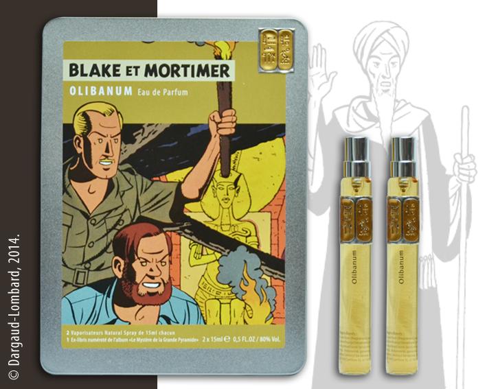 Collection vivre comme blake et mortimer coffrets d 39 eaux - Blake et mortimer la porte du druide ...