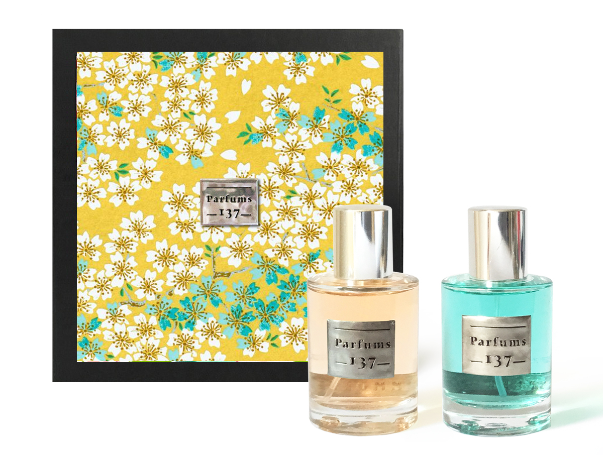 EAUX DE PARFUM SPEARMINT + IMMORTELLE • 2 x 30 ML