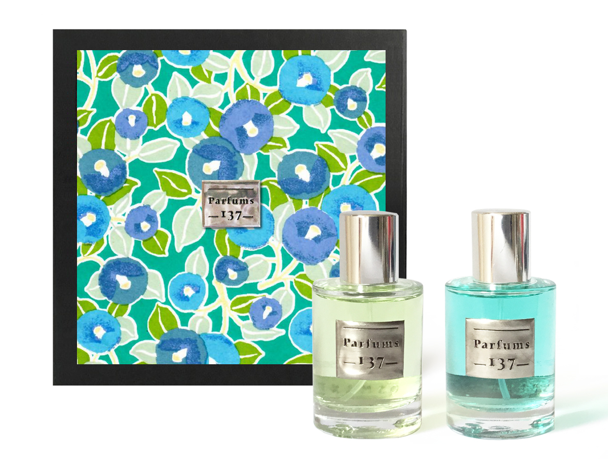 EAUX DE PARFUM OSMANTHUS + SPEARMINT • 2 x 30 ML