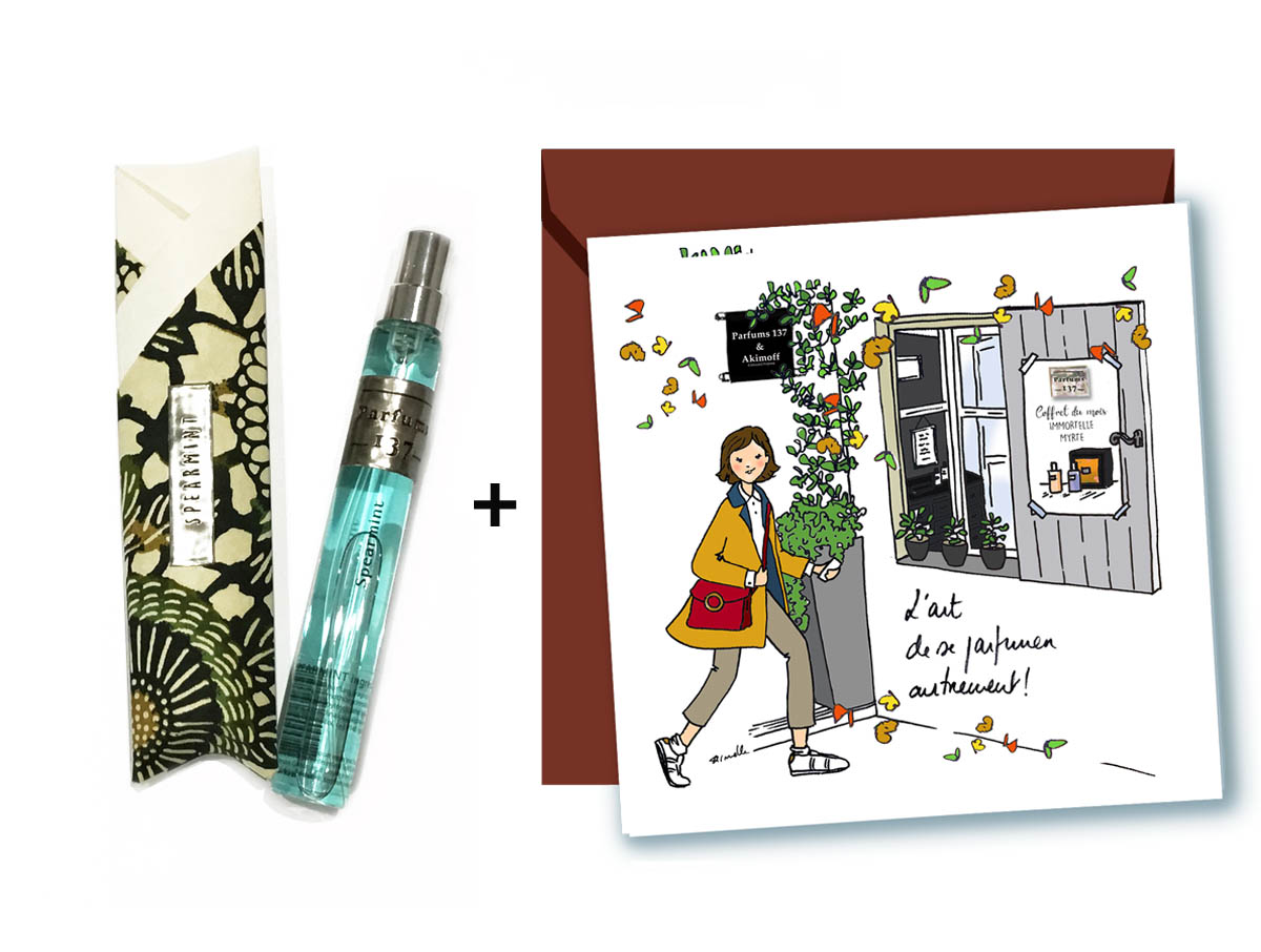 EAU DE PARFUM SPEARMINT • 15 ML + CARTE POSTALE OCTOBRE