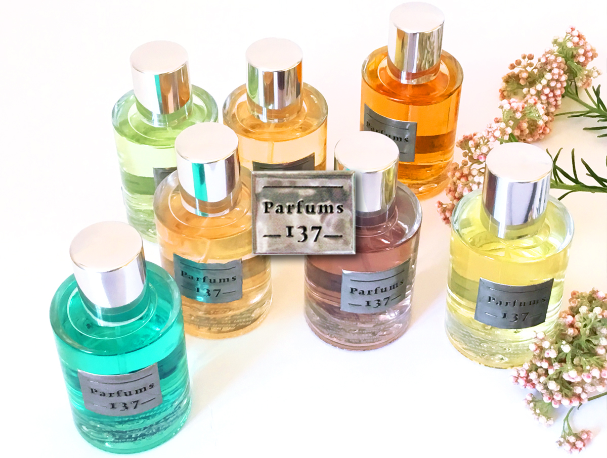 collection de parfums insolites